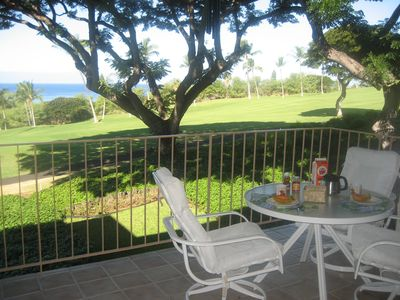 Breakfast on the lanai is a magical moment