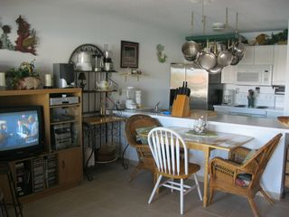 Dining table seats 4 - Bimini condo vacation rental photo