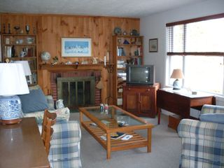 Point Judith house photo - Comfortable family room with cable TV