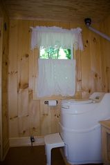 Cedar Lake cottage photo - State-of-the-art composting toilet keeps the lake clean