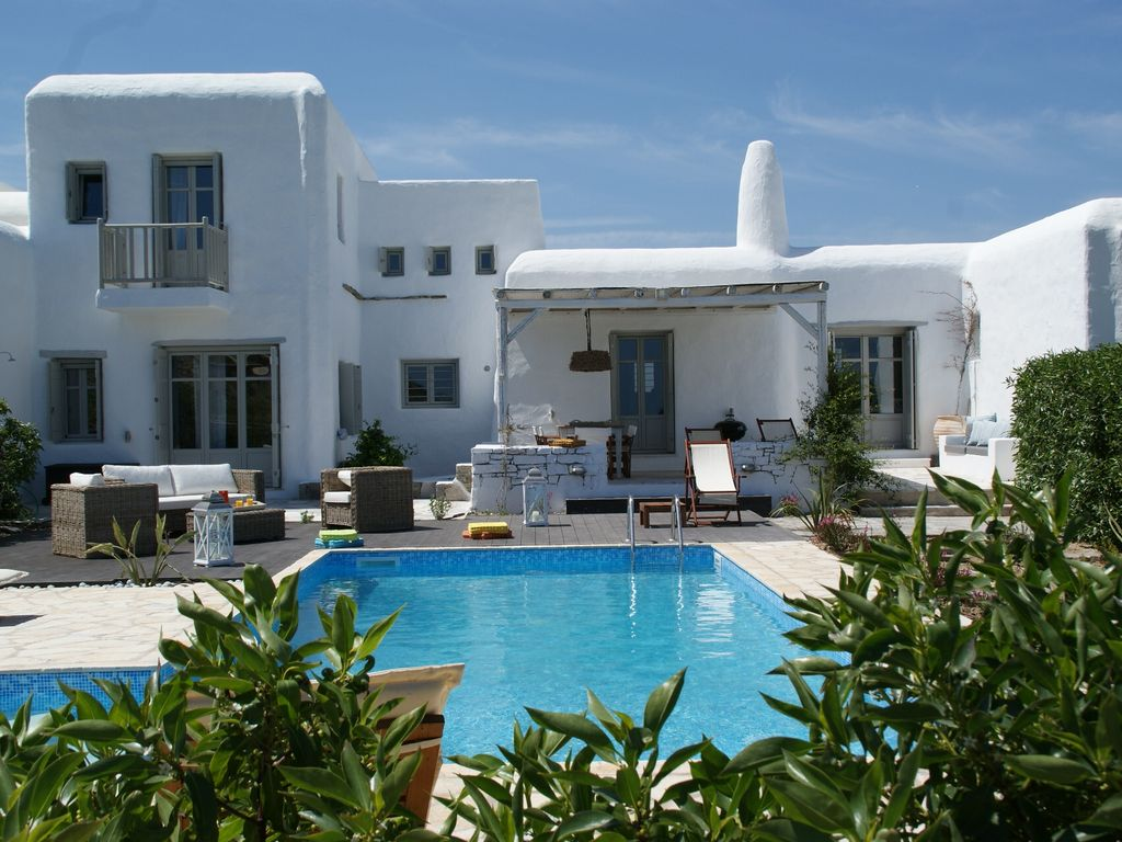 Air-conditioned accommodation, 180 square meters , Páros, Greece