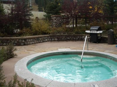 Hot Tub at Tucker Lodge