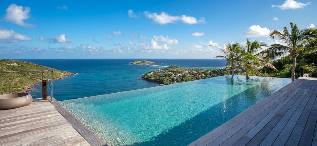 Joy villa st barthelemy island vrbo for Marigot beach st barts
