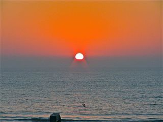 San Diego condo photo - ONE OF MANY FANTASTIC SUNSETS SEEN DIRECTLY FROM CONDO