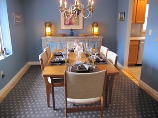 Provincetown townhome photo - Dining Room
