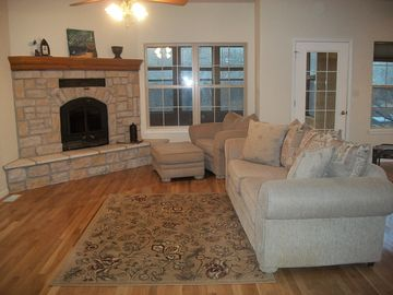 Cozy Family Room upstairs!