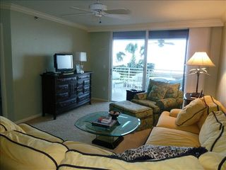 Somerset condo photo - Family room with a wonderful view of the ocean