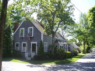 Edgartown house rental - Main House, corner High & School Streets,