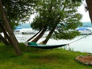 This Is How We Relax On Walloon. - Walloon Lake cottage vacation rental photo