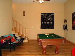 Ellijay cabin photo - Pool Table & Futon
