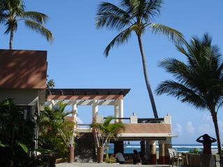 Cabarete condo photo - Feel the breeze at this open air onsite restaurant / bar