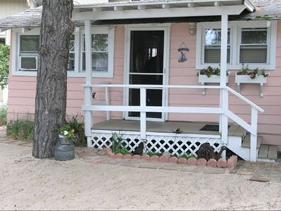 La Porte cottage rental - Front Entrance View