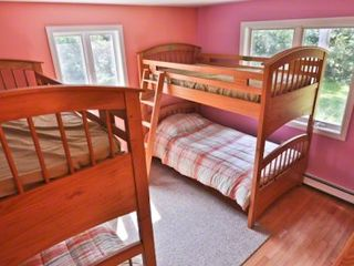 Katama house photo - Bedroom #4 - Features Two, Twin Bunkbeds. First Floor