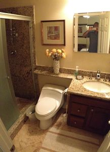 Private Bathroom with Walk In Shower for Bedroom #1...!