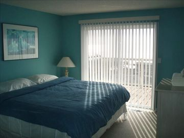 Master Bedroom Opens to Ocean View Deck. Listen to the Ocean at Night