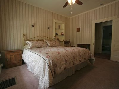 One of the 1st floor bedrooms.
