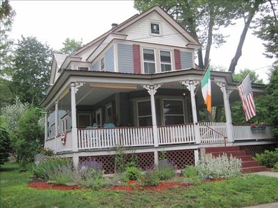 Beautiful 100 year old Victorian home - in the heart of Lake George village.