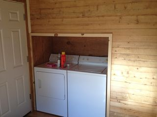 Lake Placid cabin photo - Washer and dryer for your convenience.
