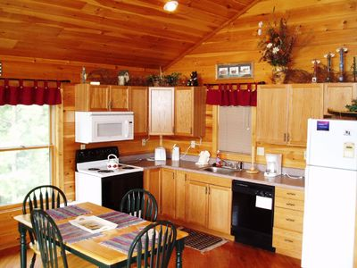 Wears Valley cabin rental - Full Kitchen