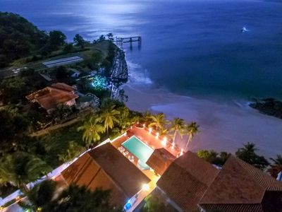 Exclusive Private Oceanfront Villa with Pool and Direct Beach Access