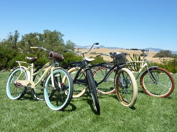 Bikes for your use during your stay.