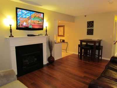 Gatlinburg condo rental - Living Room and Dining area