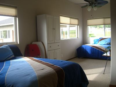 Large second bedroom will sleep 4