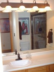 Park City townhome photo - Remodeled Master Bath w Oil Rubbed Bronze Fixtures