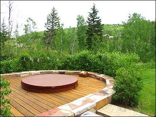 Snowmass Village house photo - Private hot tub with views