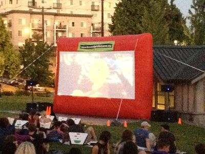 Free Summer movies in the Cal-Anderson Park 3 blocks away...