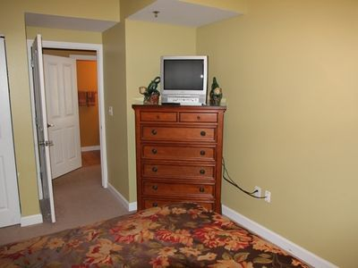 Shores of Panama condo rental - 2nd Bedroom TV