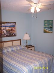 Gulf Shores condo photo - First Bedroom, Brand new Queen size mattress on this bed, 2012
