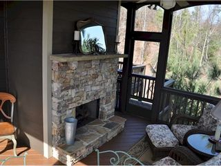 Big Canoe house photo - Outdoor fireplace