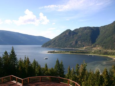 View of Shuswap Lake