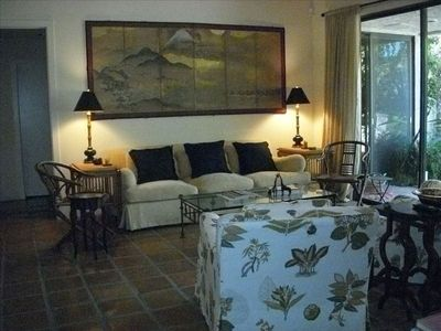 Palm Springs condo rental - Living Room