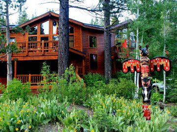 Alpine Meadows house rental - Large, comfortable, private Summer Chalet