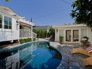 West Hollywood villa photo - private pool, main house, pool house