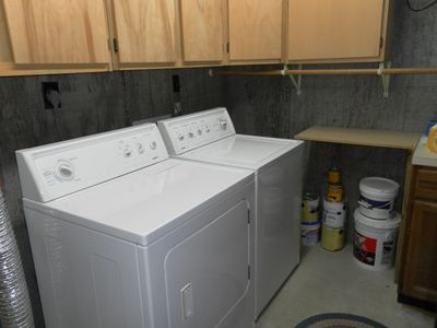 Large laundry room for your convienence.