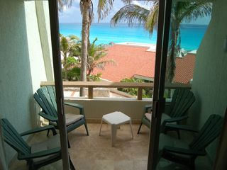 Cancun condo photo - Balcony