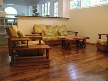 Haleiwa apartment rental - living room