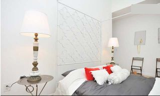 Theater District apartment photo - Bedroom #1 with en suite full bathroom and walk in closet
