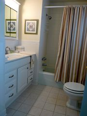 Slaughter Beach house photo - Spacious first floor bath