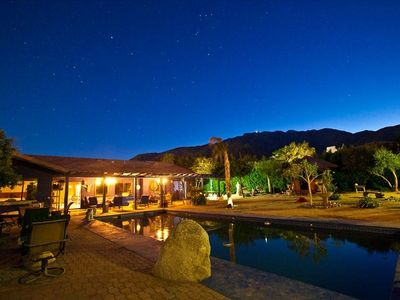 Beautiful Night Scene with a 1/2 acre of privacy.