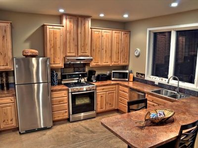 Abiquiu house rental - All new appliances and kithen make for a 'sweet' stay