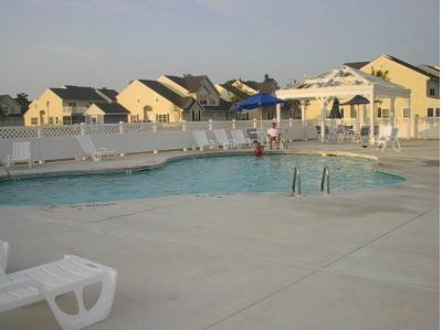 Community Pool just a 3 minute walk from your house