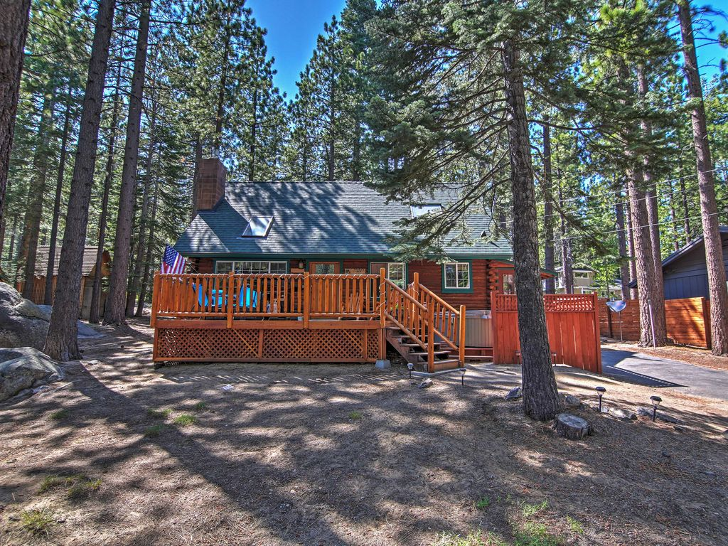 Smokey 39 s new den authentic 3br south lake vrbo for Echo lake cabin rentals