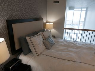 Toronto condo photo - Beautiful loft bedroom with lake view!