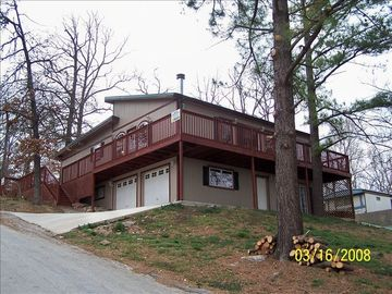 Beaver Lake house rental - view of vacation home