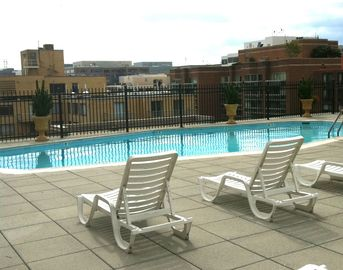 Rooftop Pool during the summer ONLY