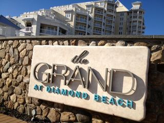 Diamond Beach condo photo - Beachfront sign and building